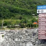 Frecce segnaletica-pubblicam-pubblicità valle camonica